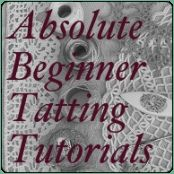 DIY: learn to tat. #tatted #tatting #beginner #tutorials