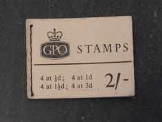 FREE SHIPPING Vintage English 1952 Postage by WhiteHartAntiques