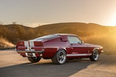 The Shelby GT500CR Is The Perfect Mix Of Old School And Modern #ShelbyGT500CR #MuscleCar #ClassicCar