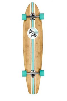 Ten Toes ZED Bamboo Longboard Skateboard Cruiser, 44 inch, Multiple Colors Available, Blue Skateboard Deck Art, Surfboard Art, Skateboard Design, Skateboard Girl, Bamboo Longboard, Longboard Cruiser, Long Skateboards, Cruiser Skateboards, Longboard Design