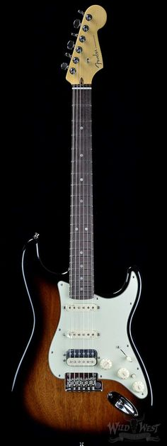 FENDER 10 FOR '15 LIMITED EDITION AMERICAN DELUXE MAHOGANY HSS STRATOCASTER Sunburst