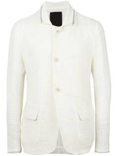 high neck tailored jacket