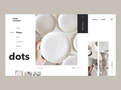 dots designed by Anastasiia. Connect with them on Dribbble; the global community for designers and creative professionals. Website Design Layout, Web Layout, Layout Design, Mise En Page Portfolio, Portfolio Design, Web Design Studio, App Design, Website Design Inspiration, Graphic Design Inspiration
