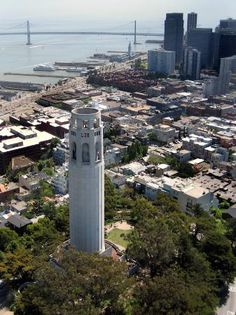 Gonna climb the heck out of Coit Tower in San Francisco next week.