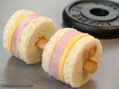 "Amazing Sandwich ""art"" Creations"