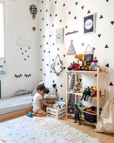 Baby Bedroom, Baby Boy Rooms, Girls Bedroom, Study Room Design, Kids Room Design, Toddler Rooms, Toddler Bed, Baby Lane, Montessori Room