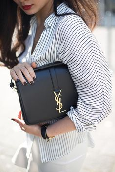 cheap yvs - Yves Saint Laurent Cabas Chyc Tote #YSL http://fashionfix.net-a ...