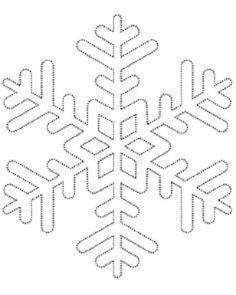 Comment fabriquer un flocon de neige tout brillant! UN PATRON GRATUIT! - Décorations - Trucs et Bricolages