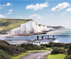 Nothing says England like chalk cliffs, and the Seven Sisters – just a few miles east of Brighton – are the best in the business