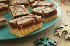 Orechové rezy dvoch farieb s citrónovou polevou - Sisters Bakery Bakery, Food And Drink, Pie, Sweet, Places, Torte, Candy, Cake, Fruit Cakes