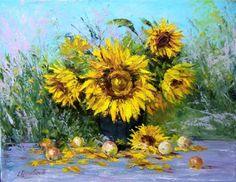 Sunflowers by Skobeleva Liliya