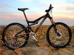 Pivots mach 5.7 mountain bike...Like butter... I've ridden one of these, and echo the praises given above!