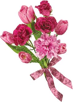Collection Of Gifs & Flowers' Casita Flowers Gif, Beautiful Bouquet Of Flowers, Beautiful Roses, Decoupage, Lord Krishna Images, Art Textile, Glitter Graphics, Blooming Flowers, I Wallpaper