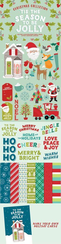 'Tis The Season Christmas Collection. Christmas Patterns