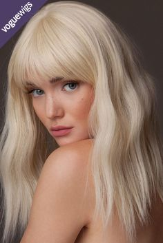 No one will believe this French Vanilla Blonde isn't your natural hair color. Get the color of your dreams - get a wig! Keep it realistic with the FY Indie Waves wig.