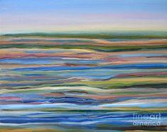 Pamela Parsons - Salt Marsh Sunrise Plum Island Mass