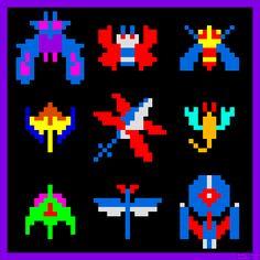 Earth's Enemies by Brother Brain. Galaga (Arcade) Namco 1981.