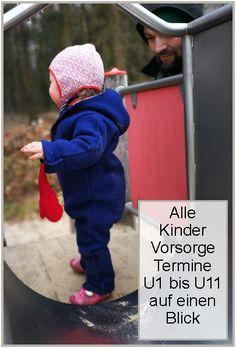 Alle U-Untersuchungen für Familien auf einen Blick, Familien, #Vorsorge, Vorsorgeuntersuchungen, Baby, U1, U11