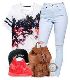 """Untitled #521"" by oh-aurora ❤ liked on Polyvore featuring Trukfit, The Ragged Priest, Aéropostale, Michael Kors, NIKE and ASOS"