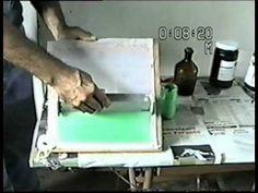 Serigrafia - video tutorial