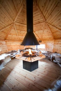 Gallery of BBQ Cabins and Huts - Arctic Cabins