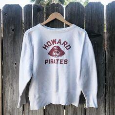 "209 Likes, 2 Comments - @kensgoods on Instagram: ""aarrrrgghhhhh!!! . . . . #pirates #logo #design #vintage #champion #sweatshirt #mascot #champion…"""
