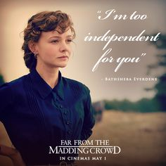 Enigmatic / Now in my Classical Greats Collection /Bathsheba Everdene, Far From The Madding Crowd 2015