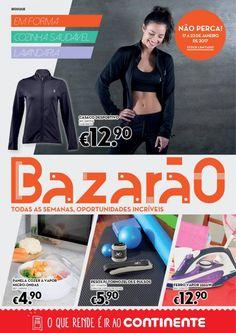 Folheto Continente Bazarão em vigor a partir de 17 Janeiro. #Continente #Bazarão