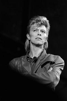 David Bowie photographed by Denis O'Regan, 1987.