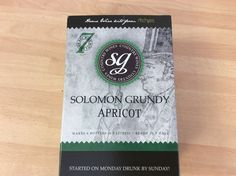 Solomon Grundy Apricot wine kit 6 bottles 7 days FREEPOST UK
