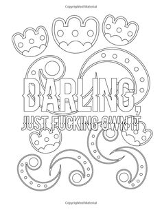 Feminist Coloring Book for Adults: Coloring Activity Book for Empowered Women Who Empower Women and Boss Babes Who are Nasty and Proud Of It - Gift . Could So She Did Coloring Books) (Volume Swear Word Coloring Book, Love Coloring Pages, Coloring Stuff, Printable Adult Coloring Pages, Coloring Books, Empowered Women, Color Activities, Eeyore, Mandala Coloring