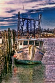 Fishing Trawler, Bristol, Rhode Island photography by Tom Prendergast