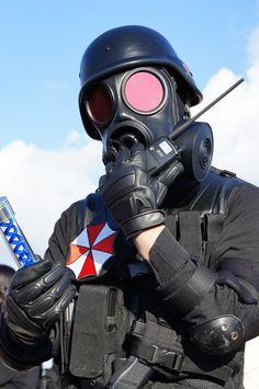Umbrella Corp - Resident Evil I'm dressing up like H.U.N.K for Halloween!