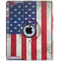 Cover For Ipad Air Case Tablet Cover For Ipad Air 1 Case 360 Degree Rotating Stand US UK Flag Retro PU Leather For Apple Ipad 5