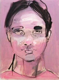 "Saatchi Art Artist Monica Bonzano; Painting, ""FACE 10"" #art"