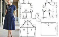 5 Handy Techniques That'll Help You Sew the Perfect Dress Dress Sewing Patterns, Sewing Patterns Free, Clothing Patterns, Make Your Own Clothes, Diy Clothes, Costura Fashion, Sewing Blouses, Fashion Sewing, Moda Fashion