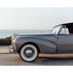 California dreaming with Ken Austin's 1941 Lincoln Continental shot at Pebble Beach. #TBT