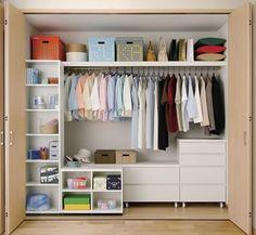 スッキリまとまる収納方法。ズボンや洋服を綺麗に収納するアイデア (3ページ目) | iemo[イエモ]