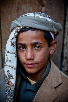 Yemen, portrait of a boy in hababa-yemen-mountain haraz-اليمن by anthony pappone photographer, via Flickr