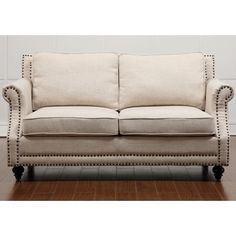 Traditional comfort meets modern style with this loveseat. This Camden loveseat was designed to optimize comfort: a high backrest, comfortable cushioning and suitable seat height maximize relaxation.