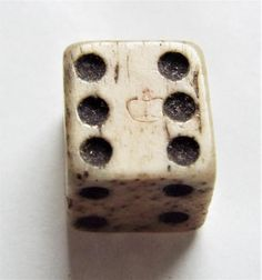 Antique Georgian Bone (Bovine) Dice with Duty Mark Game Pieces, Georgian, Dice, Bones, Antiques, Ebay, Antiquities, Antique, Georgian Language