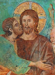 The Capture of Christ - CIMABUE pseudonimo di Cenni (o Bencivieni) di Pepo (Firenze, 1240 circa – Pisa, 1302) #TuscanyAgriturismoGiratola