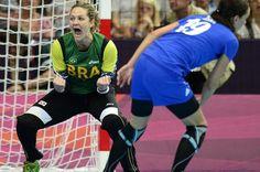 Brasil derrotou a Croácia no handebol feminino (FOTO AP)