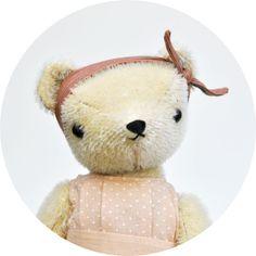 Polka Dot Club — PDC Classic Bear  Mohair Teddy Bears - for now and forever