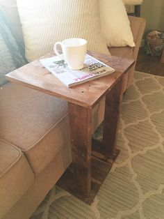 This table is a great size to add to any area in your home. Its small but very functional! See our shop for other table options! Will do custom