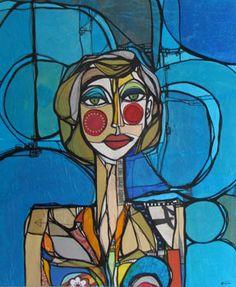 Julie en bleu