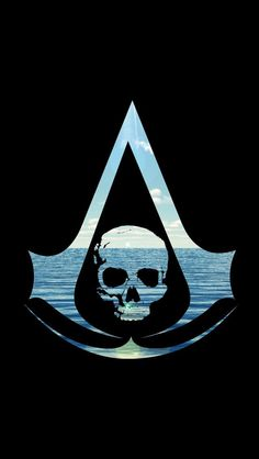 Assassins Creed Black Flag natural by on Deviantart Assasin Creed Unity, Assassins Creed Tattoo, Assassins Creed Black Flag, Assassins Creed Game, Assassins Creed Odyssey, Black Flag Logo, Assasins Cred, Assassin's Creed Wallpaper, Iphone Wallpaper