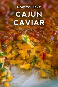 Cajun Caviar Dip - comes together in just minutes! Cajun Caviar Dip - comes together in just minutes! Cajun Appetizers, Appetizer Dips, Appetizers For Party, Appetizer Recipes, Cajun Desserts, Mardi Gras Appetizers, Party Entrees, Southern Appetizers, Halloween Appetizers