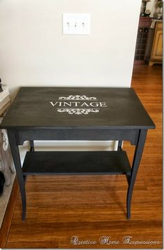 Cute table makeover