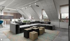 Salon - Salon - Styl Nowoczesny - GSG STUDIO | interiors & design